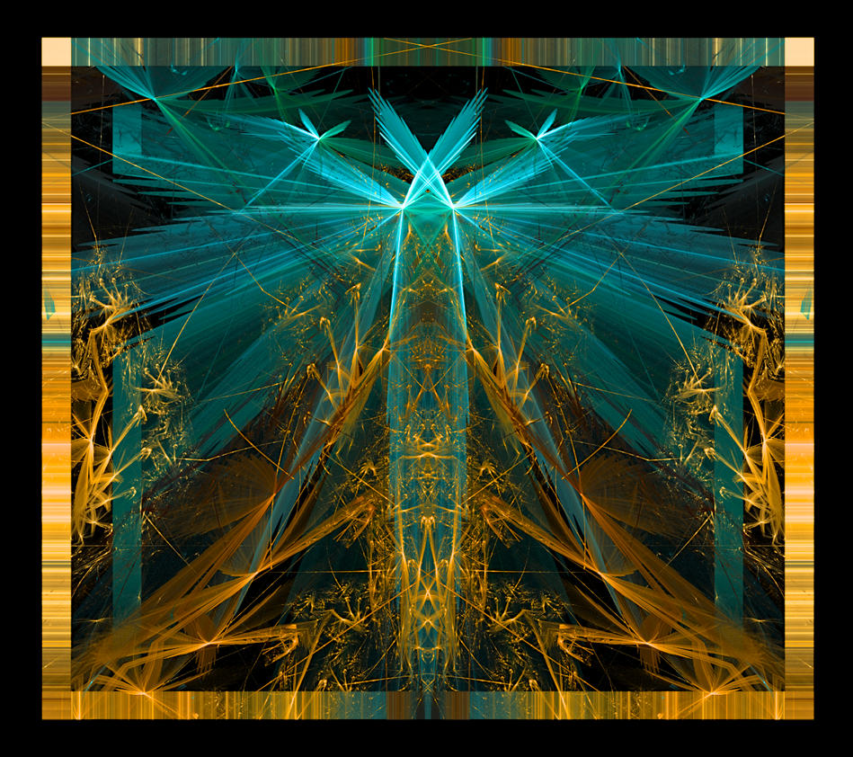 Golden blue by KateHodges