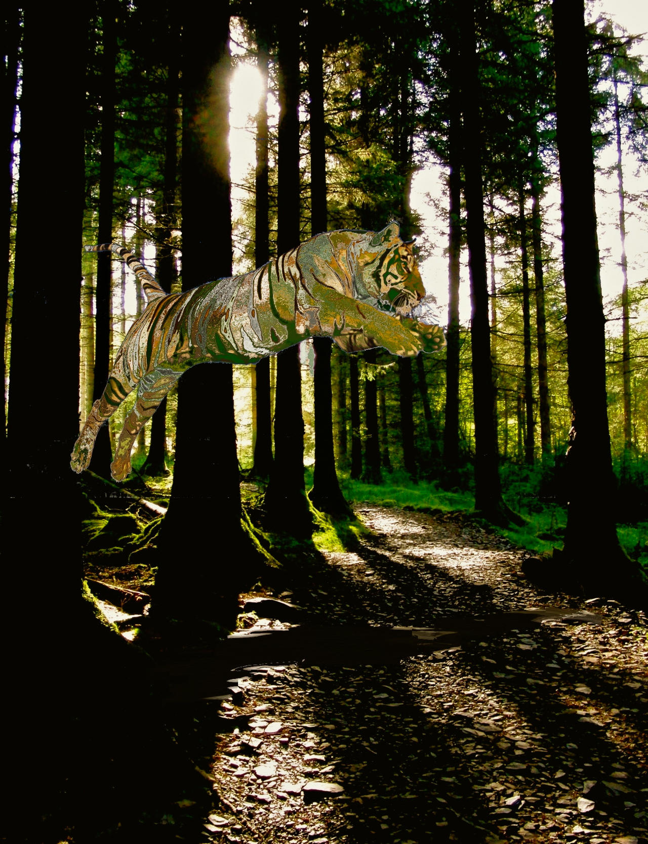 If Tigers lived in Wales by KateHodges