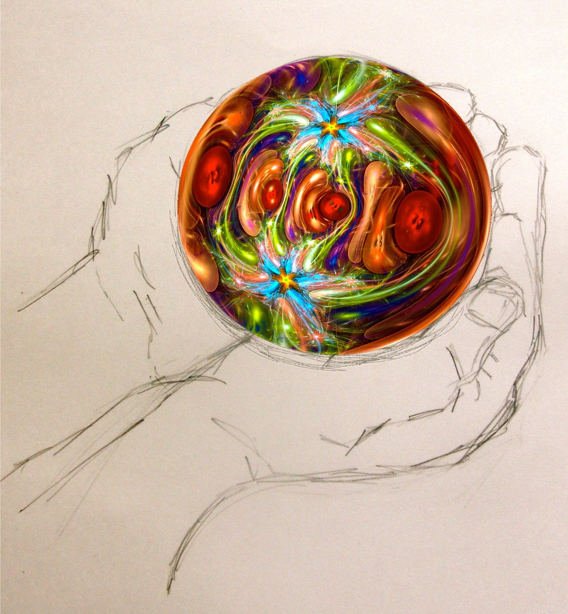 Holding a Fractal by KateHodges