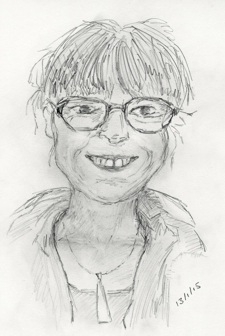Self portrait by KateHodges