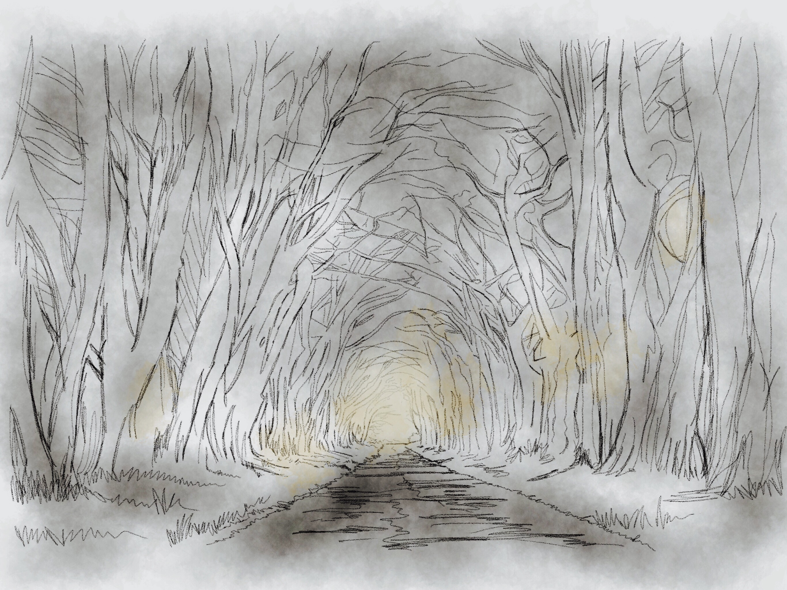Light at end of the tunnel by KateHodges