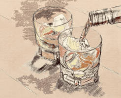 Whisky on the rocks by KateHodges