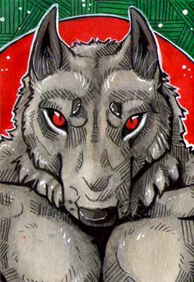 ACEO #323 Blutmond by Beast91