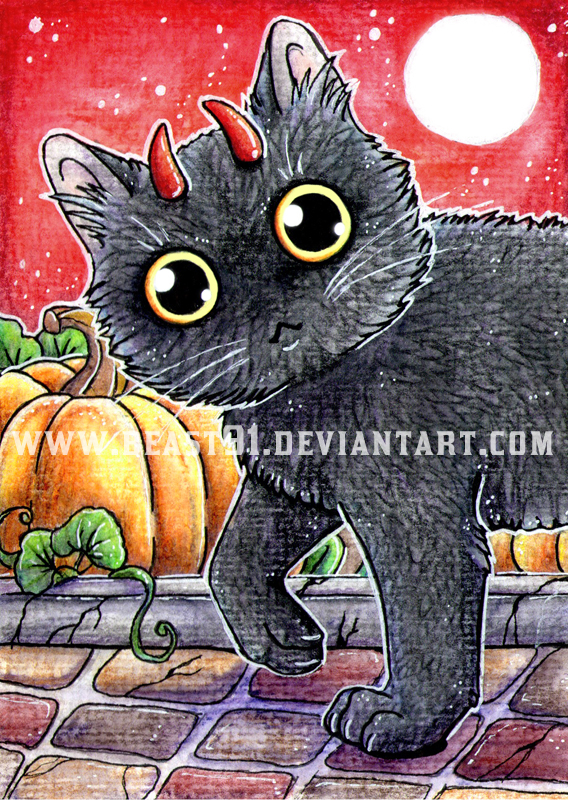 Devil Kitty by Beast91