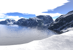 Snow lake by t22designs