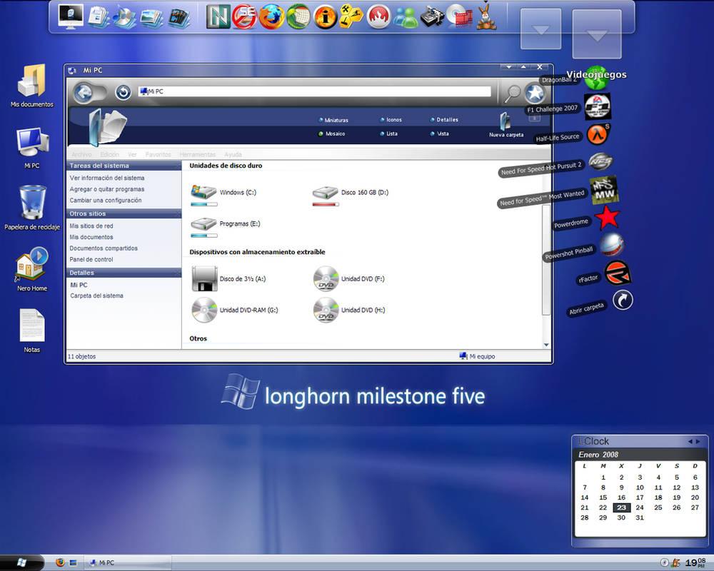 Windows Longhorn by LuiXSpain on DeviantArt