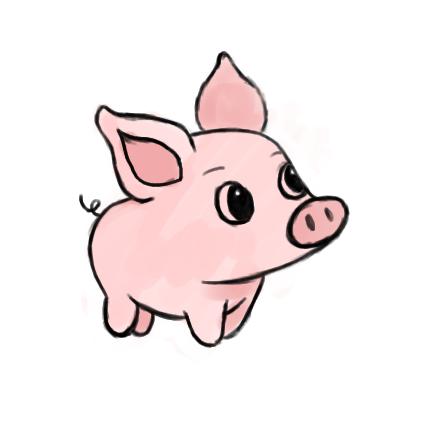 Cute pig by x-Lindsay-x on DeviantArt