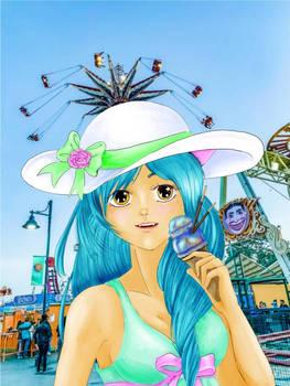 icecream on the pier
