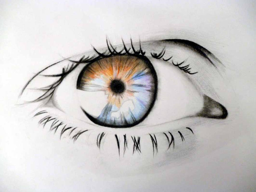 Eye Coloured by Ryuuk92