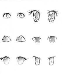 .:Manga Eyes: by capochi