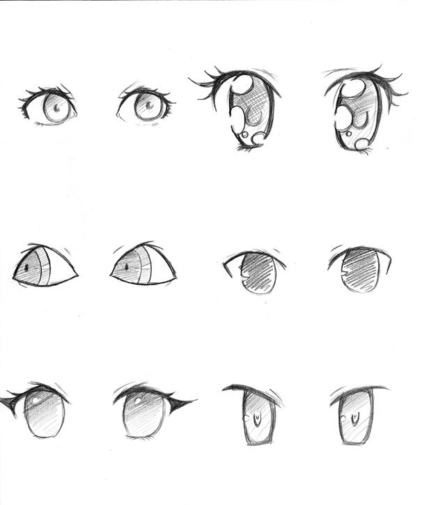 Manga Eyes By Capochi