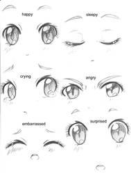 .:Manga Eyes:: Expressions:.