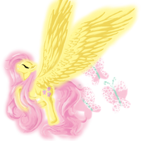 fluttershy by MollyFisen