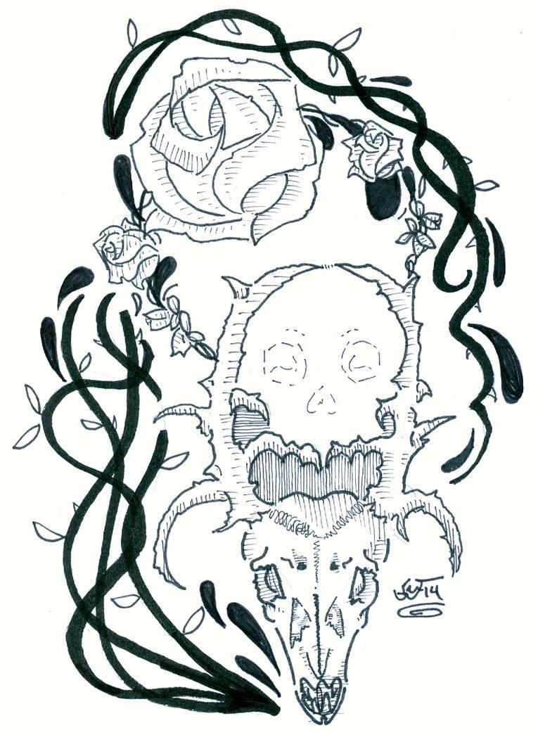 Skulls(1) by eggsistoast