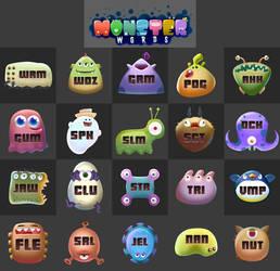 Monster Words Monster Sheet