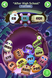 Monster Words Game Screen