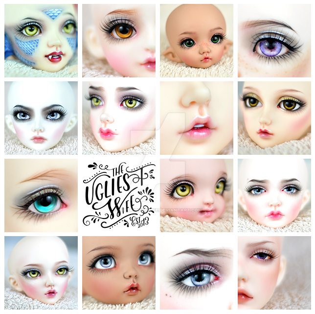 Bjd commissions 2016 by theugliestwife