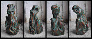 CTHULHU IDOL attributed to MALCOLM B HODGE