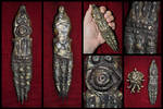 Ancient Spanish Necropolis Cthulhu Cult Dagger