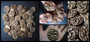 Recovered Innsmouth Gold - Marsh Coins