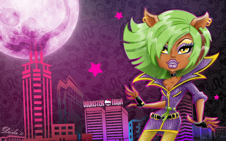 Monster High Wallpaper Clawdeen Clawdeen wolf, wallpaper by