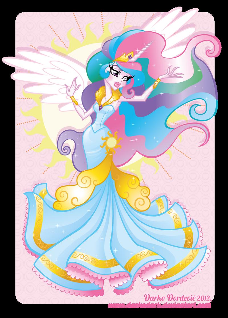 Princess Celestia by darkodordevic