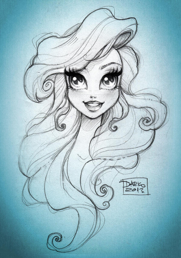 Disney Princess Ariel by darkodordevic