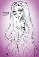 Disney Princess Rapunzel by darkodordevic
