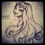 Aurora doodle