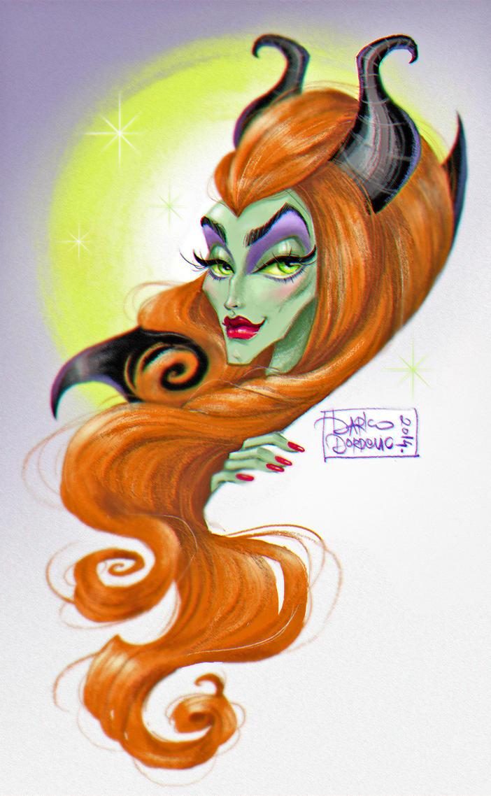 Maleficent by darkodordevic