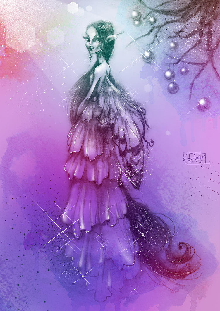 Purple fairy by darkodordevic on DeviantArt