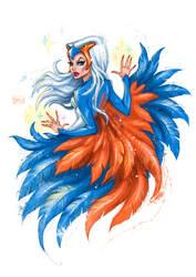 Sorceress, guardian of Castle Grayskull by darkodordevic