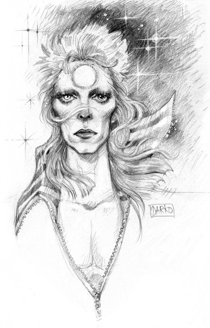Bowie by darkodordevic