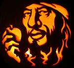 Captain Barbossa Pumpkin
