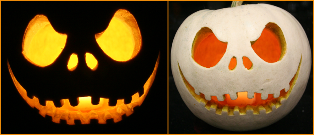 Nightmare before christmas pumpkin carving patterns