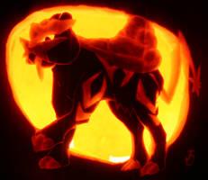 Raikou- Beast of Thunder by johwee