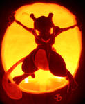 Mewtwo - The Strongest Pumpkin