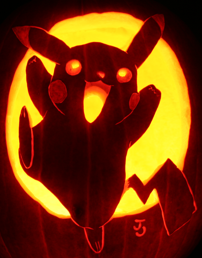 Pikapumpkin, I Choose You by johwee