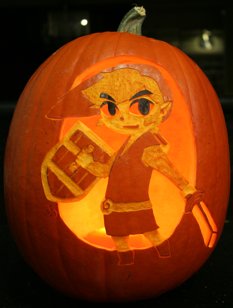 Link Pumpkin Light Style by johwee