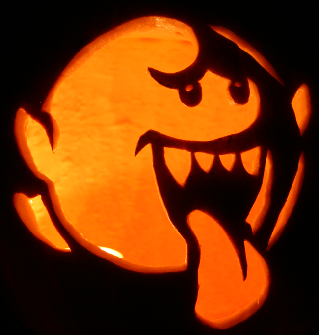 pretty mario brothers pumpkin carving template images mario