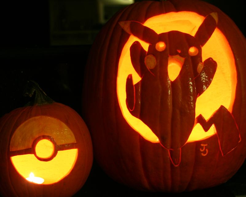 The Pikachu and the Pokeball