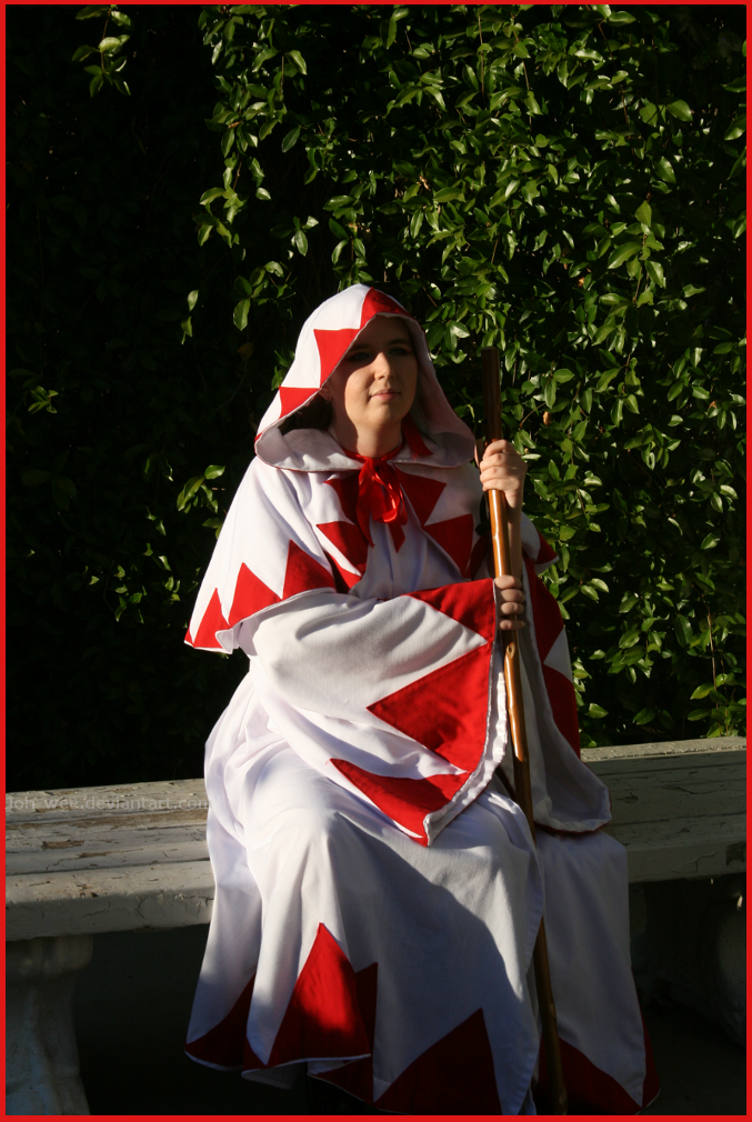 White Mage in the Gardens