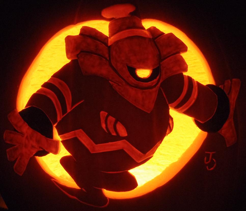 Pumpkin Reaper Dusknoir by johwee