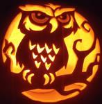 Spooky Curious Owl