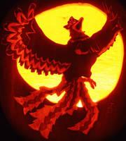 Helmaroc King Pumpkin Style by johwee