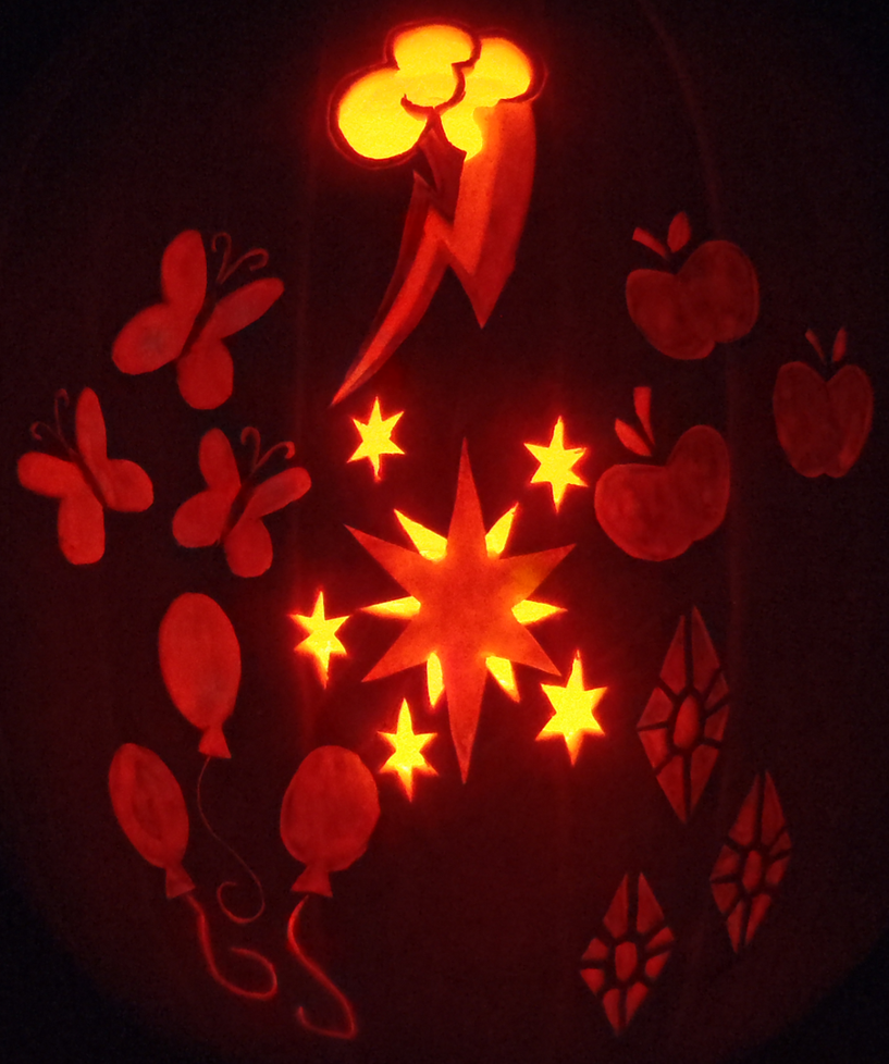 The Cutie Mark Pumpkin by johwee