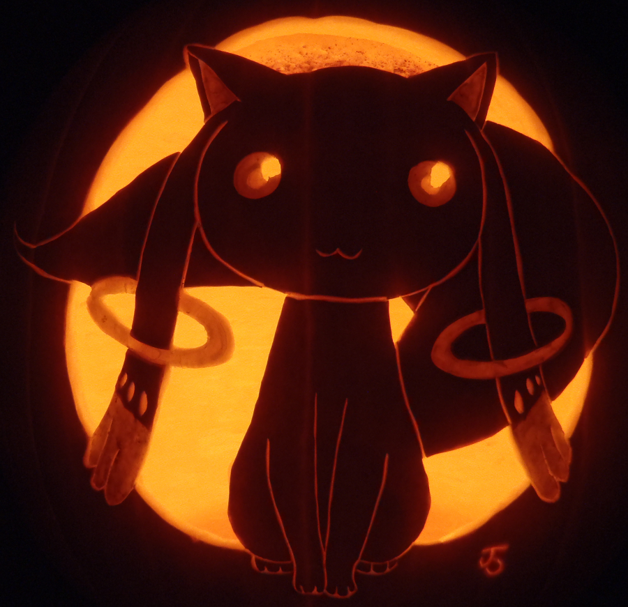 Kyubey Pumpkin by johwee