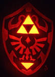 Hylian Shield Pumpkin