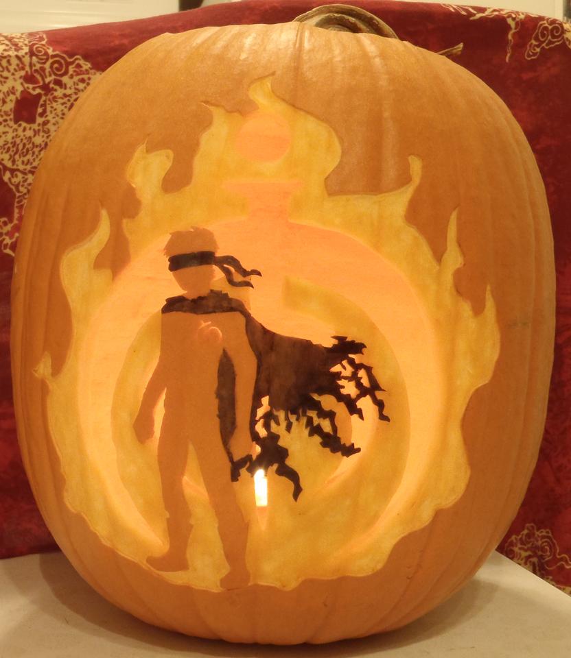 Mistborn Spook Pumpkin Light by johwee