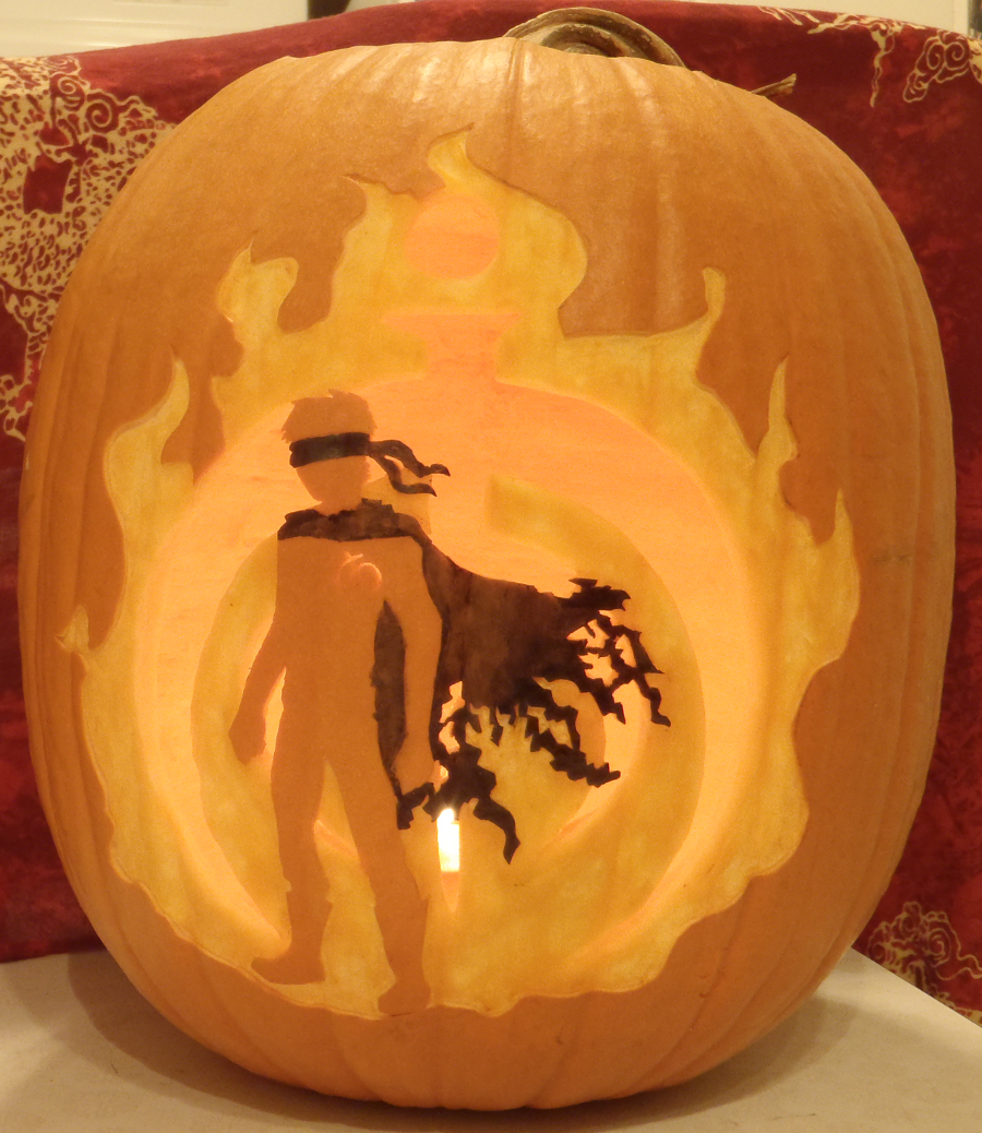 Mistborn Spook Pumpkin Light by johwee